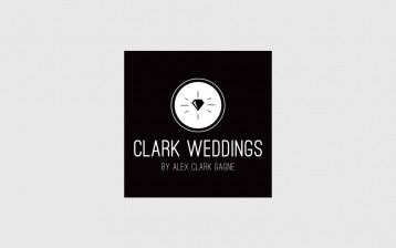 Identity for wedding photographer, Alex Gagne.